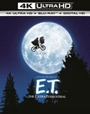 E.T., (Blu-Ray 4K Ultra HD)