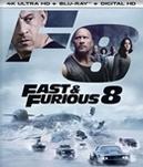 Fast & Furious 8, (Blu-Ray...