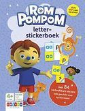 Rompompom letter-stickerboek