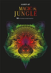 Scratch art Magic Jungle