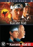 Karate kid 1&2, (DVD)
