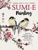 Mindful artist sumi-e painting