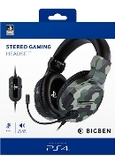 Official stereo gaming headset V3 for PS4 - camo, (Playstation 4)
