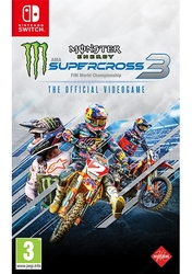 Monster energy supercross – Official videogame 3, (Nintendo Switch)