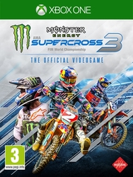 Monster energy supercross – Official videogame 3, (X-Box One)