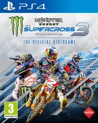 Monster energy supercross – Official videogame 3, (Playstation 4)