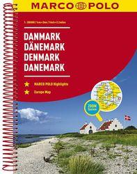 Marco Polo Road Atlas Denmark