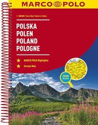 Marco Polo Road Atlas Poland