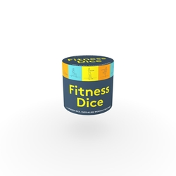 Fitness Dice: 7 Wooden...