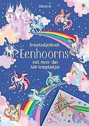Krasplaatjesboek Eenhoorn