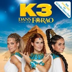 DANS VAN DE FARAO-CD+DVD- INCL. BONUS DVD VAN K3 ROLLER DISCO CLUB