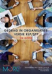 Gedrag in organisaties, 2e...