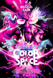 Color out of space, (DVD)