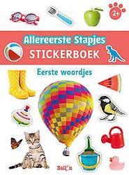 Stickerboek eerste woordjes 2+