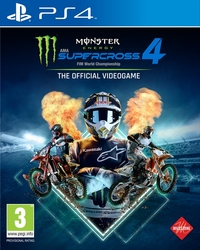 Monster Energy Supercross 4, (Playstation 4)