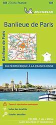 PARIS BANLIEUE 11101 CARTE...