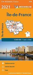 ILE-DE-FRANCE 10514 CARTE...