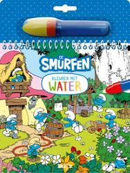 Kleuren met water - De Smurfen