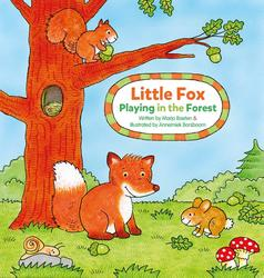 Little Fox. Playing in the...