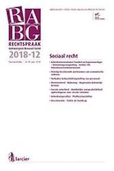 RABG 2018/12 - Sociaal recht