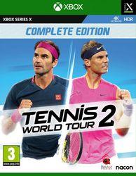 Tennis world tour 2, (X-Box...