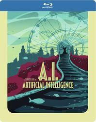 A.I. (Steelbook), (Blu-Ray)