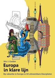 Europa in klare lijn kleurboek