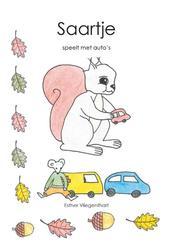 Saartje speelt met auto's