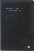 Substantive Criminal Law of...