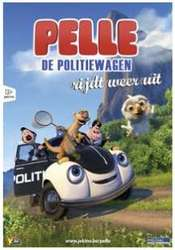 Pelle de Politiewagen rijdt...