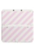 Coverplate streep roze New...