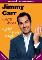 Jimmy Carr - Telling jokes...