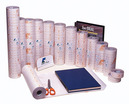 Plastificeerfolie PVC  (FILM 100 25-22) 90 micro, blinkend, Ph Neutraal, vertraagde hechting, 25 meter, breedte 22 cm