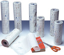 Plastificeerfolie PP  (FILM PPRBRIL 25-38) SOFT, 70 micro, blinkend, Ph Neutraal, herpositioneerbaar, 25 meter, breedte 38 cm